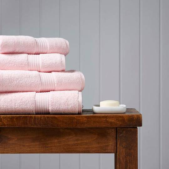 Christy Supreme Hygro Towels, Hand Towels & Face Cloths - Pink