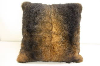 New Zealand Brushtail Possum Premium Fur Cushion