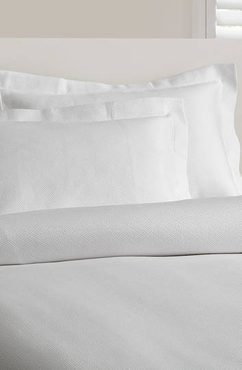 Baksana - Pure White Coverlet / Pillowcase