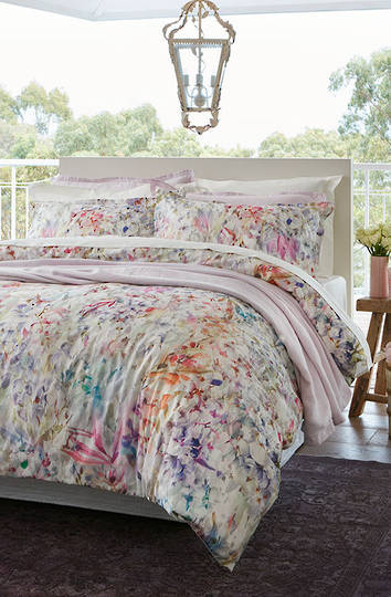 Baksana - Spring Bloom Duvet Cover Set - King - ON SALE