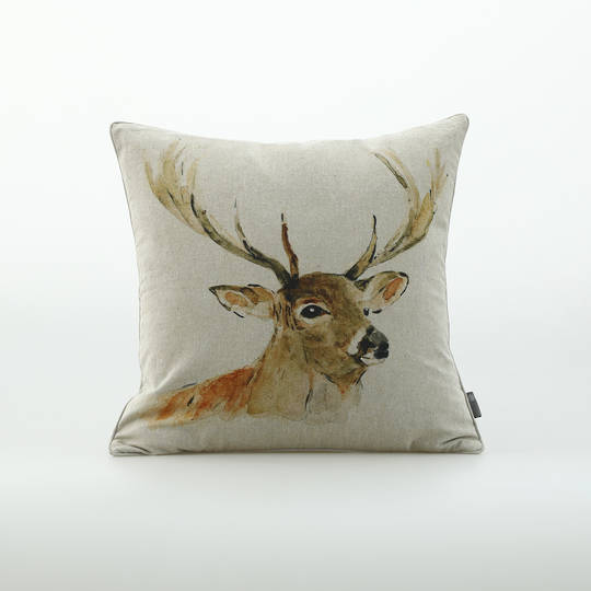 MM Linen - Stag Cushion