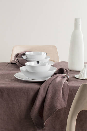 Importico - Himla Tablecloths/Napkins/Table Runner - Mauve