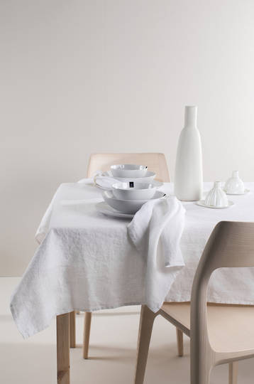 Importico - Himla Tablecloths/Napkins/Table Runner - White