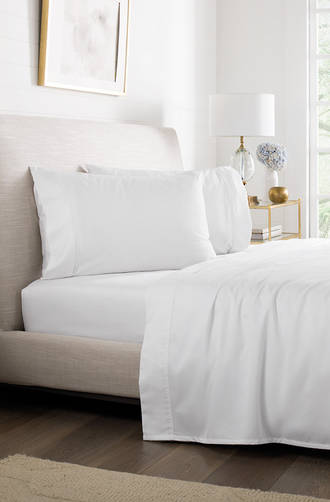 Sheridan White Super Soft Tencel® Sheet Sets/Pillowcases Sold Separately