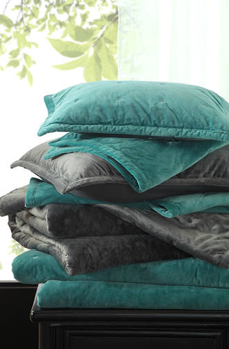 MM Linen - Vivi Charcoal Comforter Set