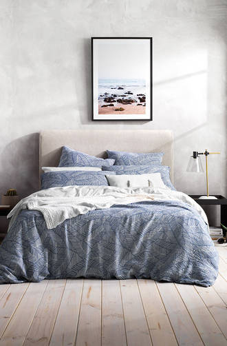 Sheridan Willowglen Washed Indigo Duvet Cover Set