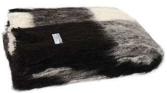 Alpaca Friesian - Brushed Throw by Master Weave