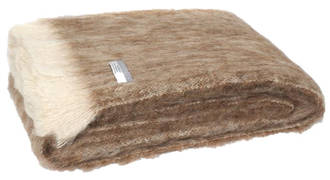 Alpaca Pumice - Brushed Throw by Master Weave