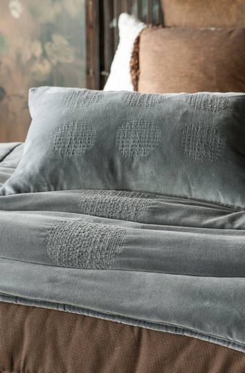 Bianca Lorenne - Ambiente Slate Comforter / Eurocases & Cushion Sold Separately
