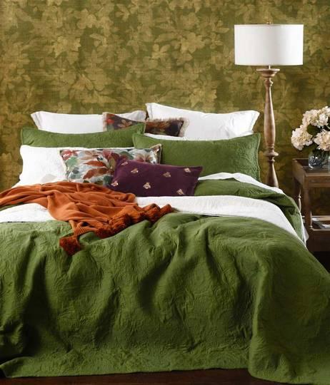 MM Linen - Ancara Bedspread Set - Clover