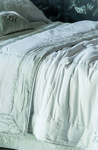 Bianca Lorenne - Bloom Duck Egg Comforter/Euro