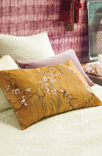 Bianca Lorenne - Chouchin Pillowcases and Eurocases -  Ochre