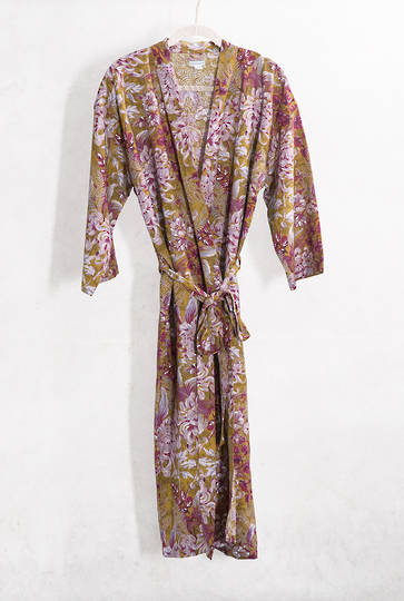 Bianca Lorenne - Giardino Antique Gold Housecoat