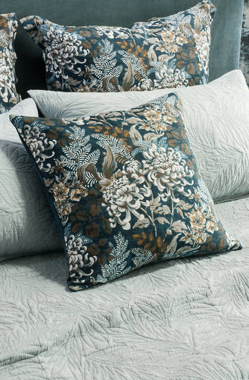 Bianca Lorenne - Giardino Indigo Cushion - ON SALE