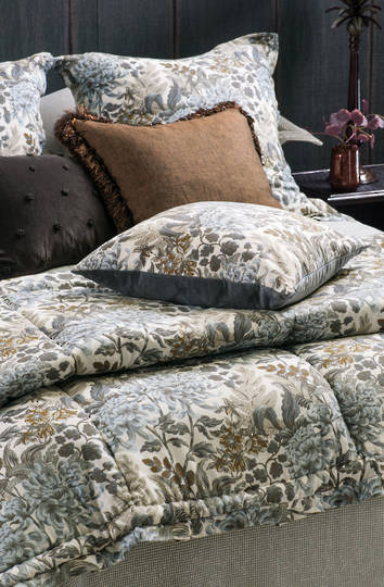 Bianca Lorenne - Giardino Natural  Comforter / Pillowcases Eurocases & Cushion Sold Separately