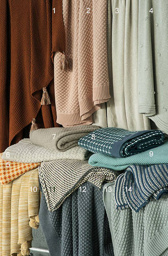 Bianca Lorenne Knitted Throws