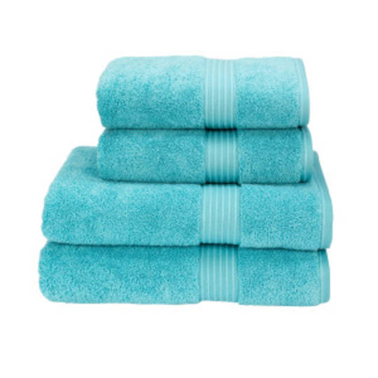 Christy Supreme Hygro Towels, Hand Towels & Face Cloths - Lagoon