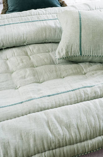 Bianca Lorenne - Luchesi Pale Ocean Comforter / Eurocases and Cushion Sold Separately