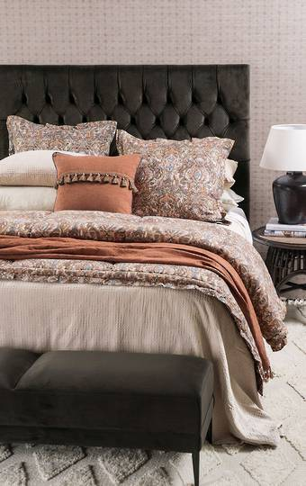 Bianca Lorenne - Merzouga Bedspread/Pillowcases & Euros sold separately