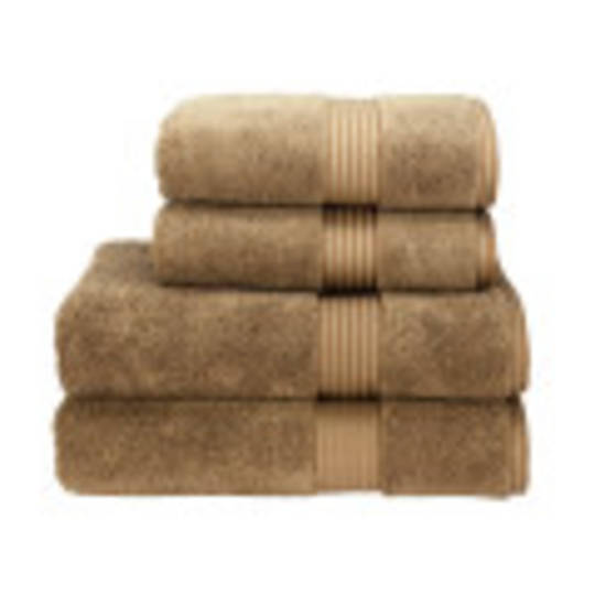 Christy Supreme Hygro Towels, Hand Towels & Face Cloths - Mocha