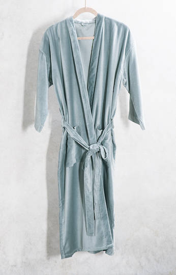 Bianca Lorrenne - Nokori Smoke Blue Housecoat