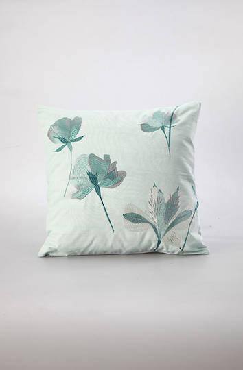 MM Linen - Petita Embroidered Cotton Cushion