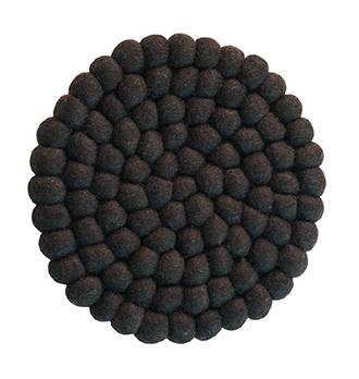 Bianca Lorenne - Pecora Walnut Felted Trivets / Set of Two