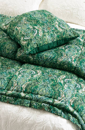 Bianca Lorenne- Riad Emerald Comforter / Pillowcases / Eurocases and Cushion Sold Separately