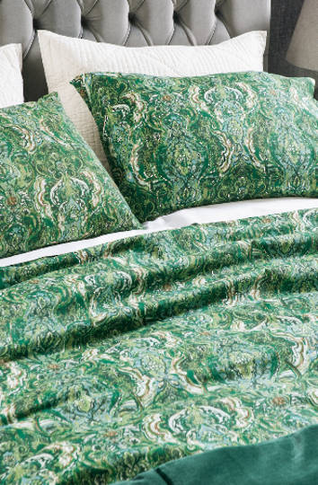 Bianca Lorenne - Riad Emerald Duvet Cover Set /Extra Pillowcases and Eurocases Sold Separately