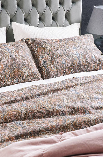 Bianca Lorenne - Riad Sunset Duvet Cover Set / Extra Pillowcases and Eurocases Sold Separately