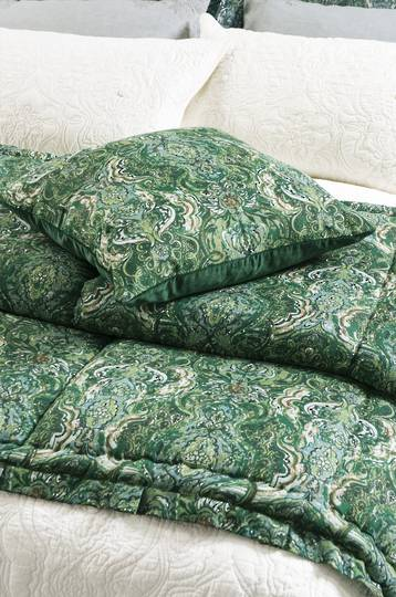 Bianca Lorenne- Riad Emerald Comforter - ON SALE
