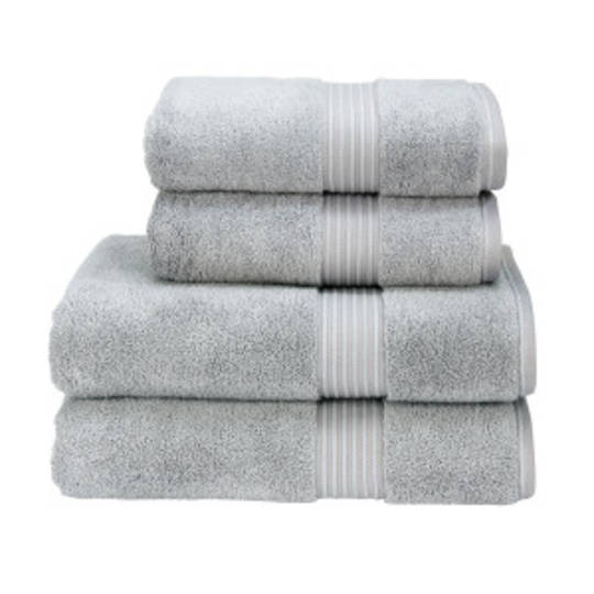 Christy Supreme Hygro Towels, Hand Towels & Face Cloths - Silver