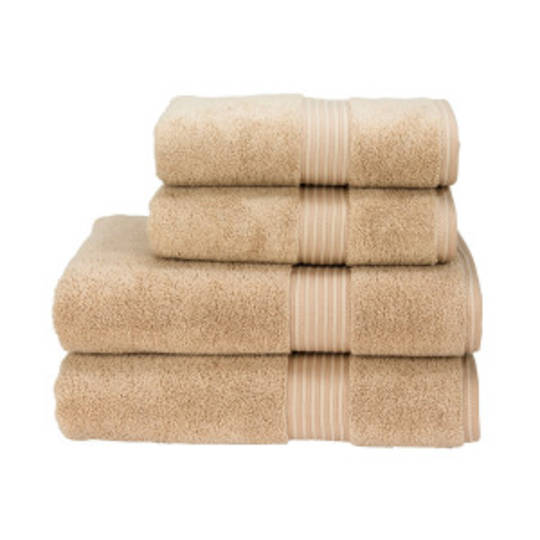 Seneca - Christy Supreme Hygro Towels, Hand Towels & Face Cloths - Stone