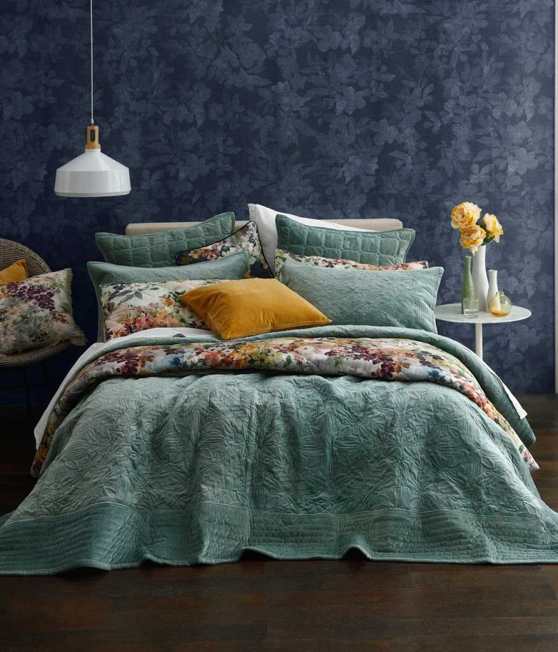 MM Linen - Remy Bedspread Set -  Laurel