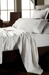 Sheridan Abbotson White Linen Sheets/Pillowcases