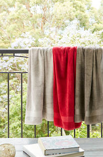 Baksana Turkish Aegean Towels (Pewter)