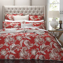 Private Collection - Alexandra Red Duvet Set