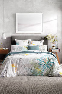 Sheridan Allbury Blue Gum Duvet Cover Set