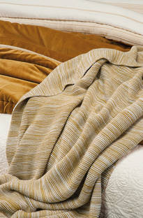 Bianca Lorenne Ambra Knitted Throw