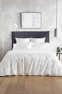 Sheridan Ardel Platinum Duvet Cover Set / Eurocase sold separately
