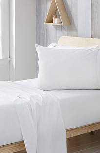 Sheridan Ashi White Cotton Sheet Set