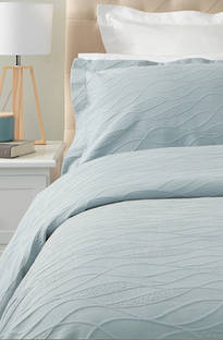 Baksana Calm Waters Duck Egg Bedspread Set
