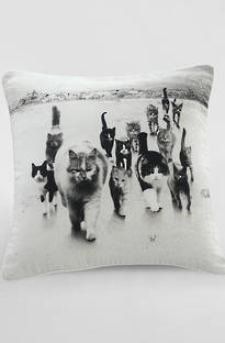 MM Linen Catmob Cushion