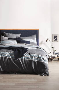 Sheridan Chester Midnight Duvet Cover Set