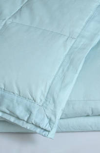 MM Linen - Cosy Feather & Down Blanket - Duckegg