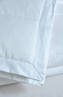 MM Linen - Cosy Feather & Down Blanket - White