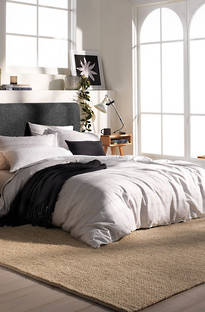 Sheridan Derry Silver Duvet Cover Set
