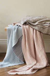 Baksana - Divine Cotton Throws
