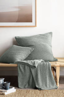 Sheridan - Earley Eucalyptus Throw & Cushions