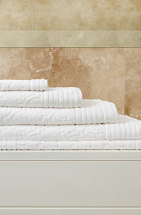 Baksana Empire Towels (White)